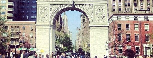Washington Square Park is one of NY To Do.