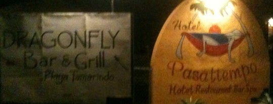 Dragonfly Bar & Grill is one of Tamarindo.