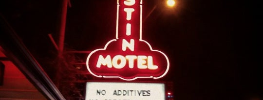 Austin Motel is one of Texas.