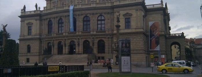 Rudolfinum is one of StorefrontSticker #4sqCities: Prague.