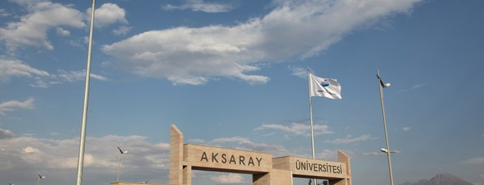 Aksaray Üniversitesi is one of 🇹🇷 님이 좋아한 장소.