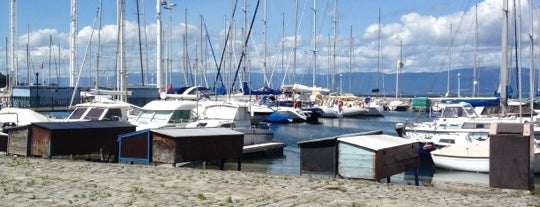 Port de Thonon is one of Lieux sauvegardés par Mkdds.