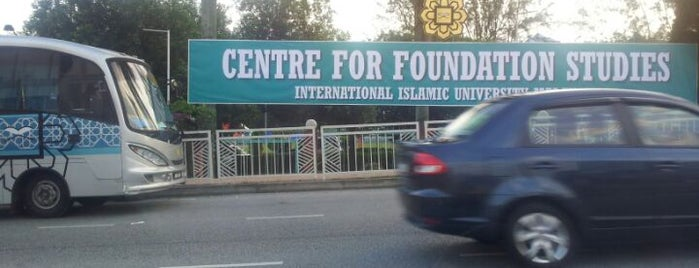 Centre for Foundation Studies (CFS) IIUM is one of b.