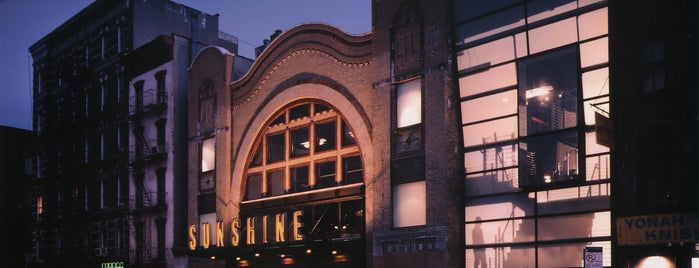Landmark's Sunshine Cinema is one of NYC's best date spots.