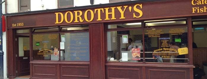 Dorothy's Fish Bar is one of Cardiff.