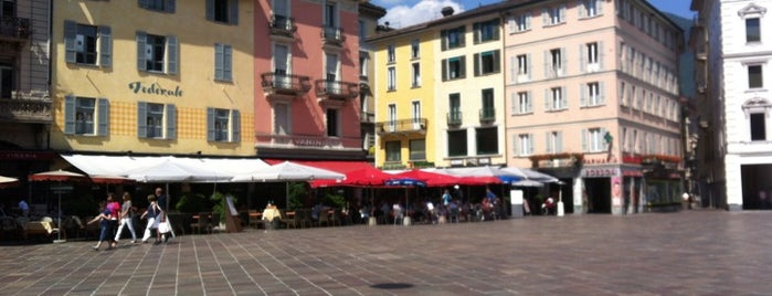 Piazza della Riforma is one of Switzerland - Lugano.
