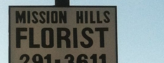mission hills florist is one of Favorite Haunts Insane Diego.