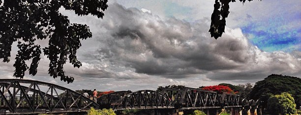 The Bridge of the River Kwai is one of Bangkok.