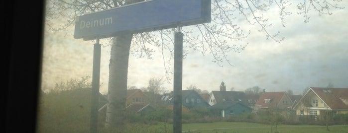 Station Deinum is one of Friesland & Overijssel.
