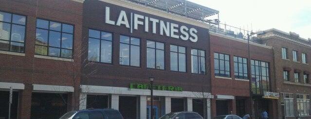 LA Fitness is one of Lugares favoritos de Rich.