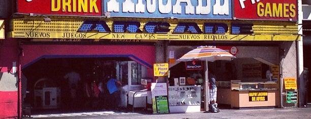 Sassony Arcade is one of Los Angeles.