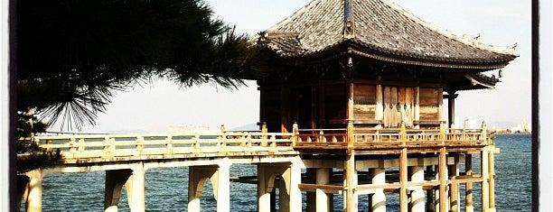 満月寺 浮御堂 is one of 昔 行った.