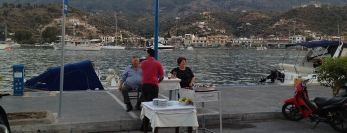 Oasis Restaurant is one of Poros Atina.
