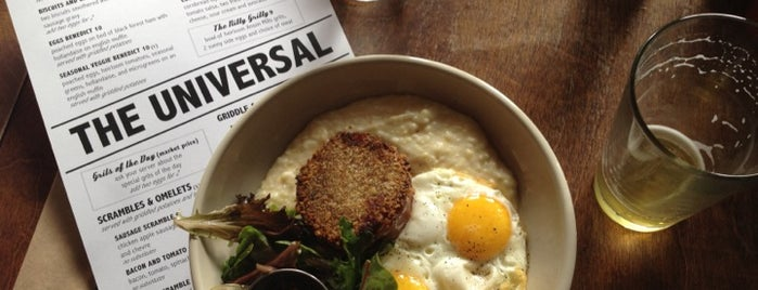 The Universal is one of Breakfast and Brunch.