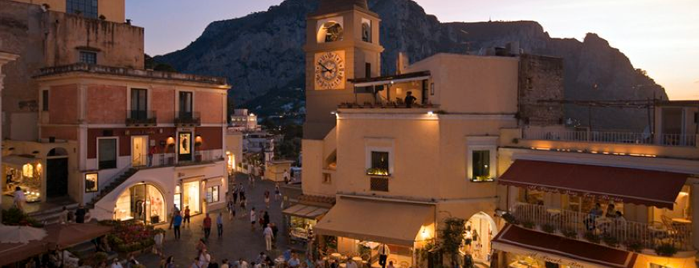 Piazza Umberto I is one of Amalfi Coast, Italy.