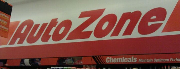 AutoZone is one of Steve's Saved Places.