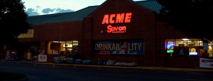 ACME Markets is one of Lugares favoritos de Karen.
