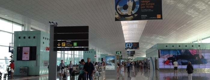 Barselona-El Prat Havalimanı (BCN) is one of Airports of the World.
