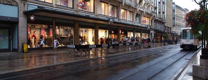 Rue du Rhône is one of Suiça - onde ir.
