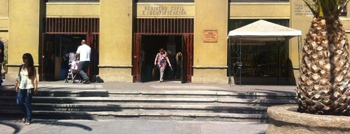 Servicio de Registro Civil e Identificación is one of Locais salvos de Luis.
