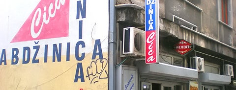 Ćevabdžinica Cica is one of Fast food tzv. has sa trafike.