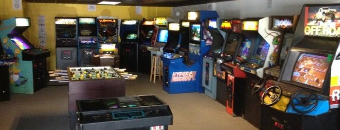 The Atomic Arcade is one of สถานที่ที่บันทึกไว้ของ Jane.
