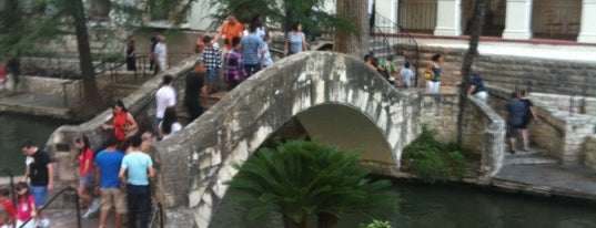 """Selena's Bridge""  - Robert H.H. Hugman Father of the Riverwalk is one of StorefrontSticker #4sqCities: San Antonio."