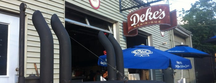 Dekes BBQ Carry- Out & Catg is one of Philly Spots.