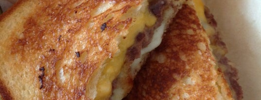 The Grilled Cheese Grill is one of portland todo.