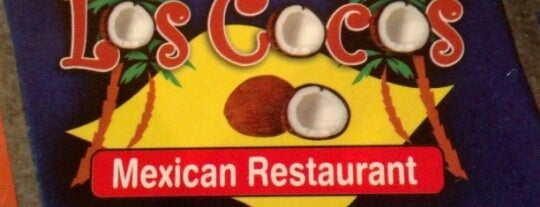 Los Cocos Mexican Restaurant is one of Tempat yang Disukai Jewels.