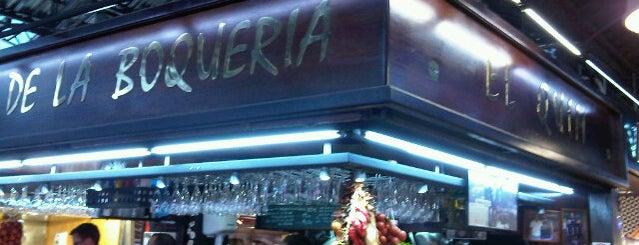 El Quim de la Boqueria is one of Euro Trip.