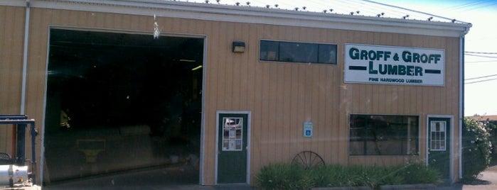 Groff & Groff Lumber Yard is one of Black Snake Moan.