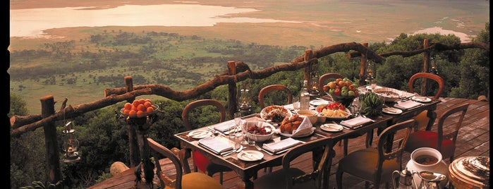 Ngorongoro Crater Lodge is one of International: Hotels.