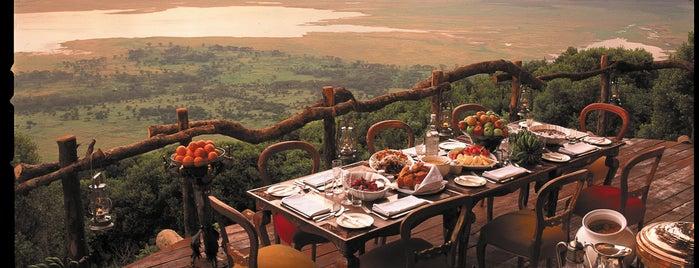 Ngorongoro Crater Lodge is one of International: Hotels.