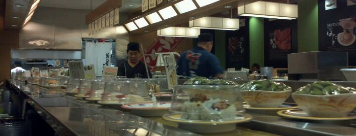 Gatten Revolving Sushi Bar is one of Orte, die Linda gefallen.