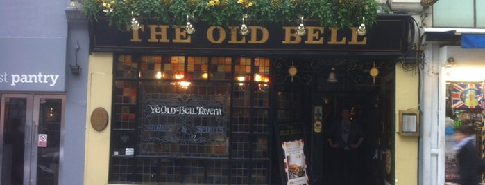 The Old Bell Tavern is one of London.