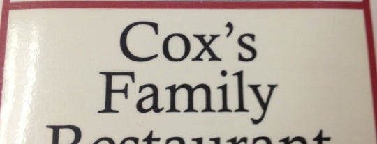 Cox Family Restaurant is one of Southern Trip.