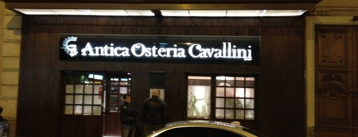 Antica Osteria Cavallini is one of Milan.