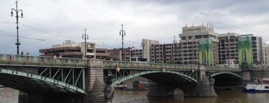 Čech-Brücke is one of StorefrontSticker #4sqCities: Prague.
