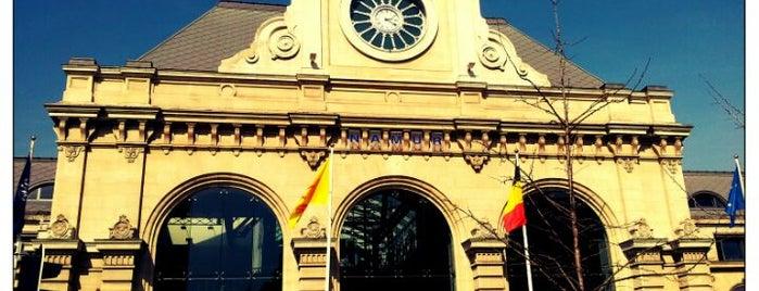 Gare de Namur is one of Anissa Lenna'nın Beğendiği Mekanlar.