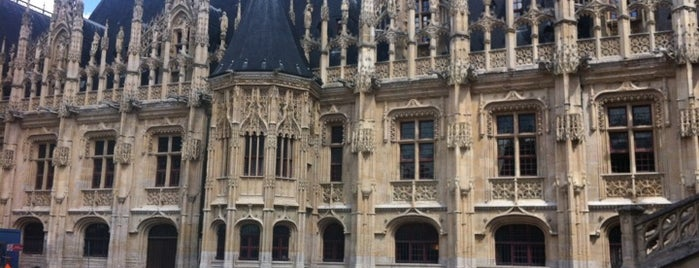 Palais de Justice is one of Rouen.