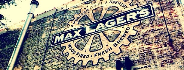 Max Lager's Wood-Fired Grill & Brewery is one of Breweries or Bust 2.
