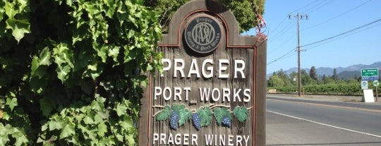 Prager Winery & Port Works is one of Tempat yang Disukai Todd.