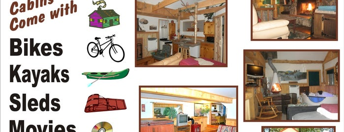 Cabins 4 Less Station, Big Bear Lake is one of Big Bear Lake (Anti-Zombie Survival).