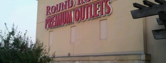 Round Rock Premium Outlets is one of Austin, TX.
