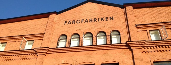 Färgfabriken is one of Stockholm ✈️.