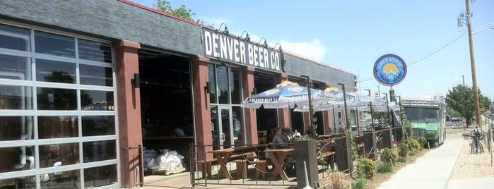 Denver Beer Co. is one of Dog-Friendly Denver.