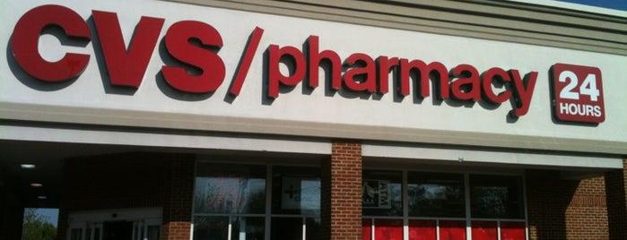 CVS pharmacy is one of Tempat yang Disukai Dawn.