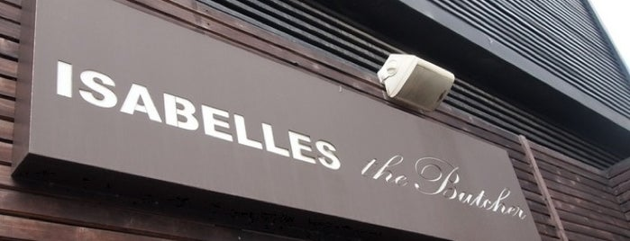 ISABELLES the Butcher is one of Resto Seoul.