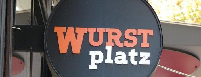 Wurst Platz is one of Fast food tzv. has sa trafike.